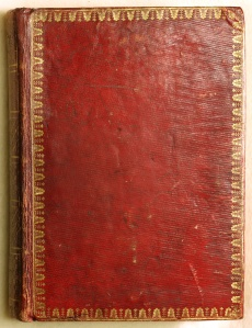 Photograph of the binding of the Book of Hours.