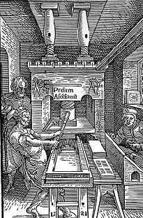 Wooden hand press
